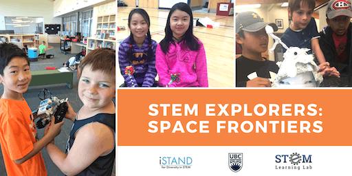 KELOWNA: STEM Explorers - Space Frontiers (Gr. 1-3) 2019