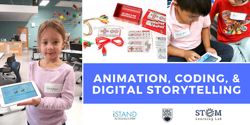 KELOWNA: Animation, Coding, and Digital Storytelling (Gr. 1-3) 2019