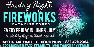 Kayak Fireworks Tour