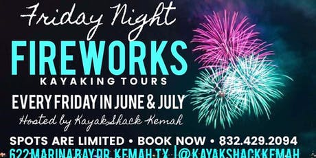 Kayak Firework Tour tickets