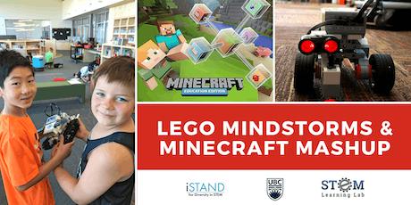 KELOWNA: Lego Mindstorms & Minecraft Mania Mashup (Summer Camp - Gr. 4-6) tickets