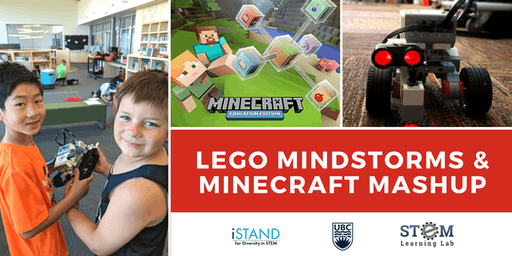 KELOWNA: Lego Mindstorms & Minecraft Mania Mashup (Summer Camp - Gr. 4-6)