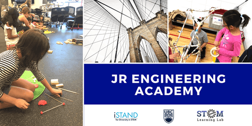KELOWNA: Jr. Engineering Academy (Summer Camp - Gr. 1-3) 2019