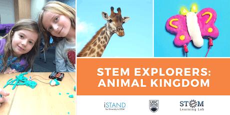 KELOWNA: STEM Explorers - Animal Kingdom (Summer Camp - Gr. 1-3) 2019 tickets