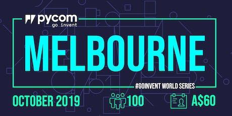 Melbourne Pycom #GOINVENT World Series IoT Enterprise Workshop Tickets