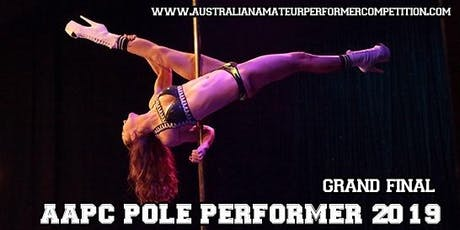 AAPC Pole Performer 2019 - Grand Final tickets