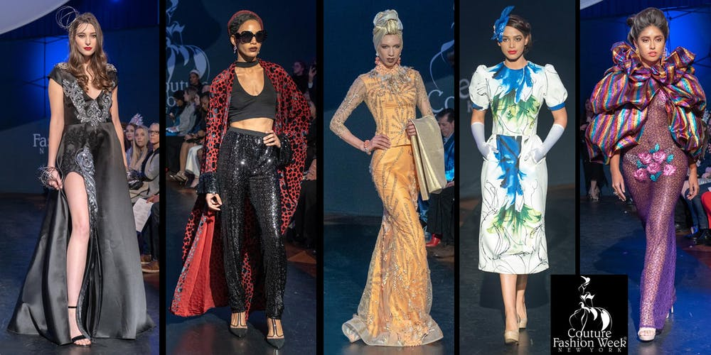 85d54442994 Couture Fashion Week NY Sept 6-8