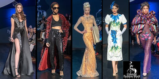 Couture Fashion Week NY Sept 6-8, 2019-Fashion Shows NYC