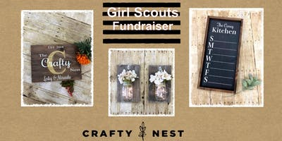 Milford Girl Scout Fundraiser at The Crafty Nest (Whitinsville)