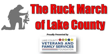 3rd Annual Ruck March of Lake County Participants (Walkers) tickets
