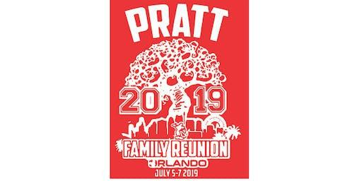 PRATT FAMILY REUNION ORLANDO 2019