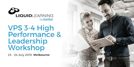VPS 3-4 High Performance & Leadership Workshop tickets