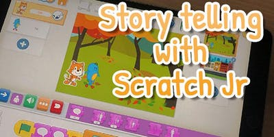 *Webinar*: Storytelling with Scratch Jr