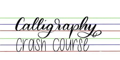 Calligraphy Crash Course tickets