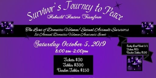 Survivor's Journey to Peace Detroit Domestic Violence Awareness Event