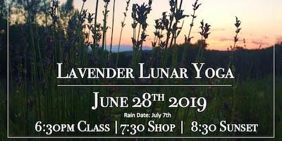 Lavender Lunar Yoga