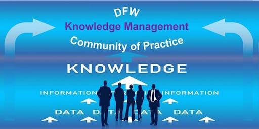 DFW Knowledge Management Community of Practice