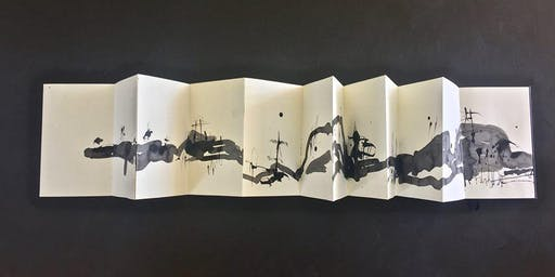 Ink & Charcoal on Japanese Album Workshop