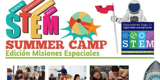 STEM Summer Camp - 3 al 29 de Junio