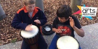African Drumming with Eugene McGrath