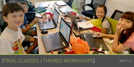 Coding for Kids - Themed Workshops (Ages 7 - 12) @ Parkway Parade tickets