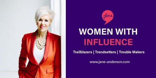 Women with Influence Dinner Melbourne - 7 August 2019