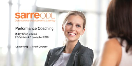 Performance Coaching  |  2-day Short Course tickets
