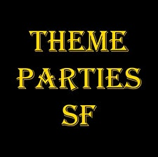 THEME PARTIES SF ( Yuksel Presents, Sol Y Luna, Rhythm Ethics & Mirza Party) logo