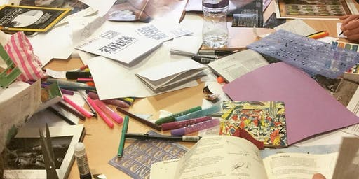 Come make Zines with the Edinburgh Zine Library for 13 to 18 year olds