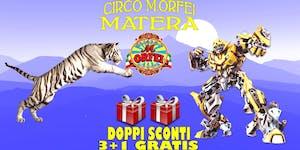 Il Circo M.Orfei ad MATERA, sconti e regali