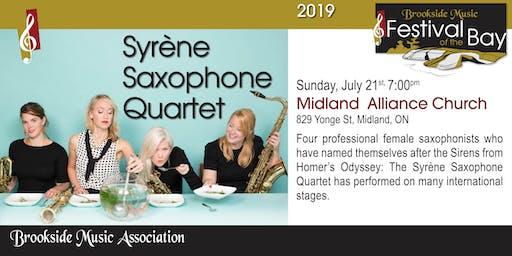 Syrène Saxophone Quartet