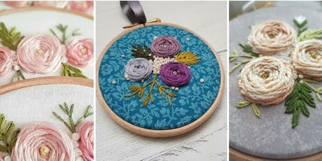 Chunky Roses - Hand Embroidery Workshop - Crafts & Makes - Didsbury tickets