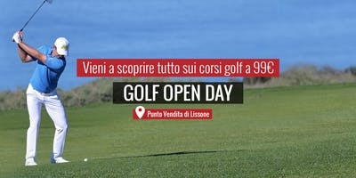 MAXI SPORT | Golf Open Day Lissone 8 giugno 2019