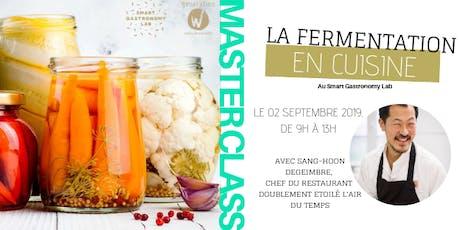 [Master Class] La fermentation: un procédé ancestral bien d'actualité! #3 billets