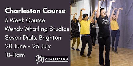 6 Week Charleston Course at Wendy Whatling School of Dance, Brighton tickets