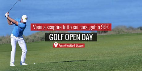 MAXI SPORT | Golf Open Day Lissone 8 settembre 2019 Tickets