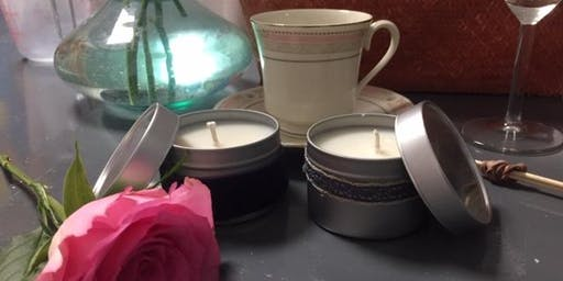 Candle Making with Afternoon Tea treats