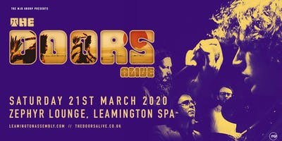 The Doors Alive (Zephyr Lounge, Leamington Spa)