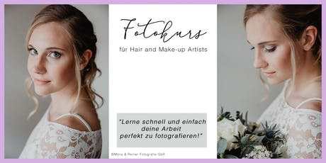 Fotokurs für Hair and Make-up Artists tickets