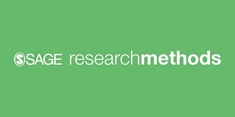SAGE Research Methods training webinar tickets