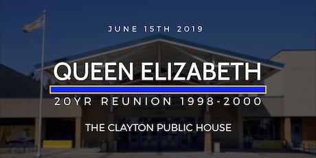 Q.E  20yr Reunion 98-00 tickets