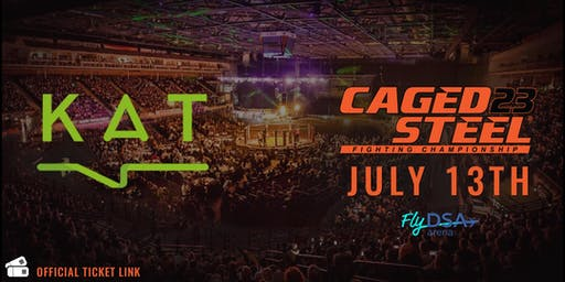 Caged Steel 23 - KAT Ticket Link