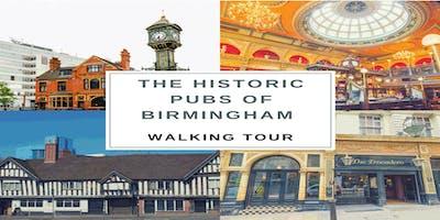 The historic pubs of Birmingham walking tour