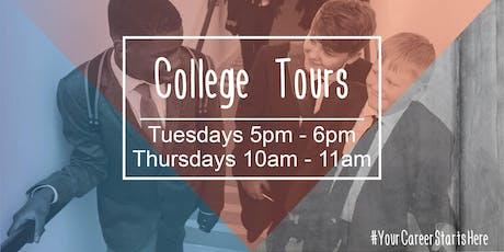 UTC Warrington - College Tours tickets