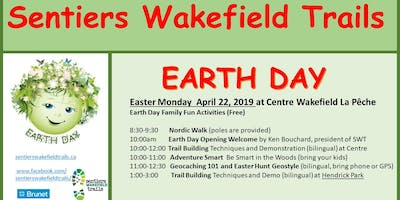 Earth Day in Wakefield with Sentiers Wakefield Trails