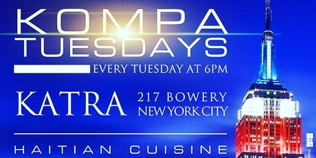 Kompa Tuesdays at Katra Lounge (feat. HAITIAN CUISINE) tickets