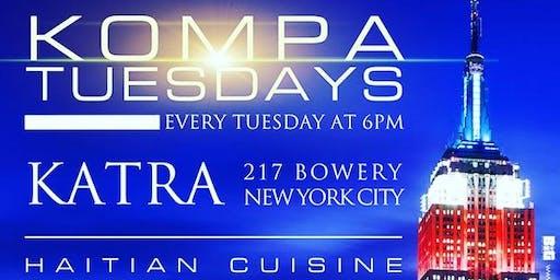 Kompa Tuesdays at Katra Lounge (feat. HAITIAN CUISINE)
