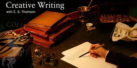 Creative Writing with E. S. Thomson tickets