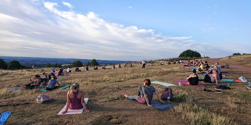 Evening Outdoor Yoga Walton Hill 2019