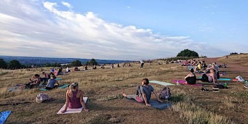 Evening Outdoor Yoga Walton Hill 2019